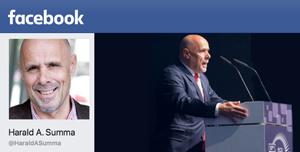 Harald A. Summa bei Facebook